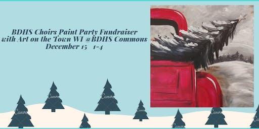 Choir Paint Party Fundraiser