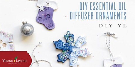 Homemade Holiday Gift Ideas: DIY Clay Diffuser Ornaments tickets