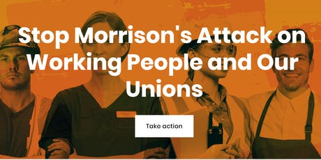 """Fighting back against the anti-worker """"ensuring integrity"""" bill tickets"""