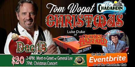 TOM WOPAT CHRISTMAS tickets