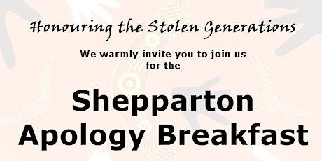 Shepparton Apology Breakfast 2020 tickets