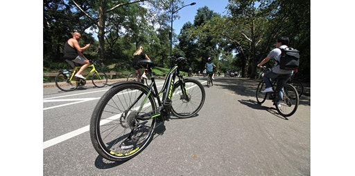 """No Sweat"" Easy E-Bike Tour of Central Park! (01-30-2020 starts at 12:00 PM)"