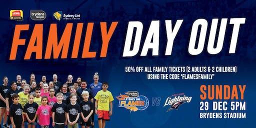 Flames V Lightning, Sunday, 29 December @ 5pm