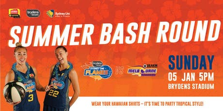 Flames V Boomers, Sunday, 5 January @ 5pm tickets