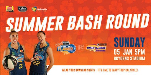 Flames V Boomers, Sunday, 5 January @ 5pm