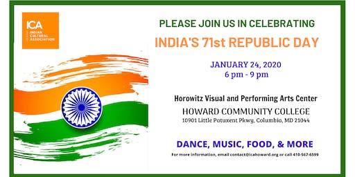 Celebrate India's 71st Republic Day