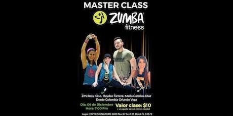 Zumba Master Class + Toy Drive  tickets