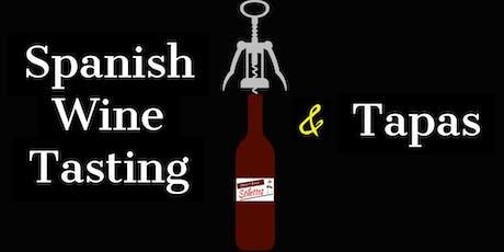 Spanish Wine Tasting & Tapas tickets