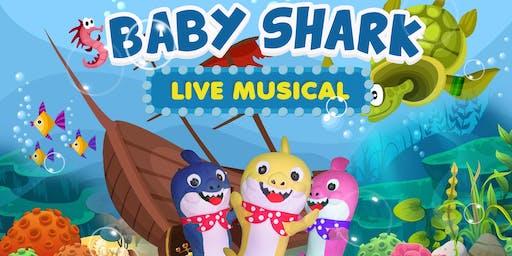 DESCONTO! Baby Shark Live Musical para Bebês no Teatro Santo Agostinho (Liberdade)