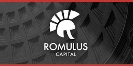 Romulus Capital Venture Pitch tickets