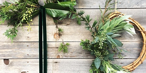 Shannon Patrice Designs Makeshift Makers Market Holiday Wreath Workshop