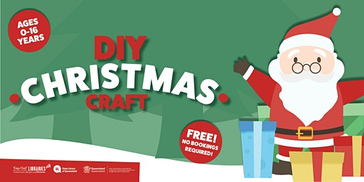 DIY Christmas Craft Kids' Morning In - Maryborough Library - Ages 0-16
