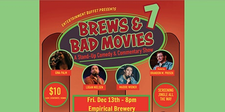 Brews & Bad Movies 7: Jingle All the Way tickets