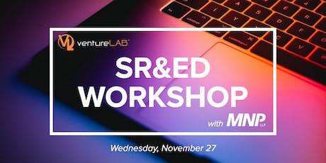 SR&ED Workshop with MNP tickets