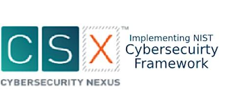 APMG-Implementing NIST Cybersecuirty Framework using COBIT5 2 Days Training in Winnipeg tickets