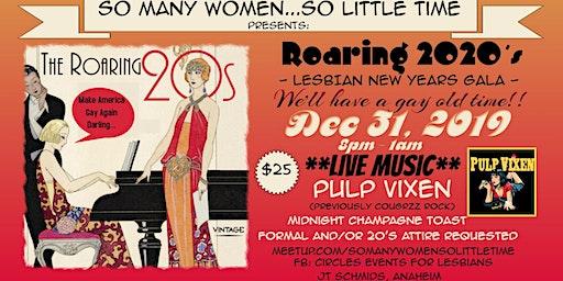 Roaring 2020's Lesbian New Years Eve Gala