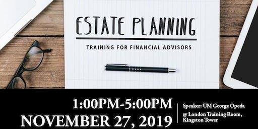 Jasper Area Estate Planning Seminar for Financial Advisers