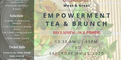 Empowerment Tea & Brunch