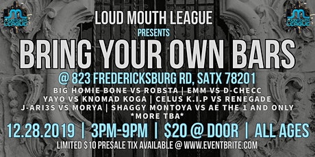 Loud Mouth League presents Bring Your Own Bars tickets