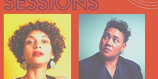 Ofa Fanaika & Zaynab Wilson at Skukum Lounge