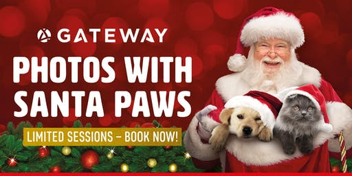 Visit Santa Paws at Gateway
