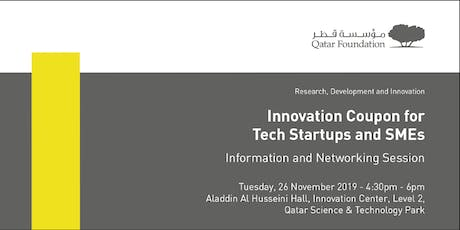QF RDI Innovation Coupon for Tech Startups & SMEs  tickets