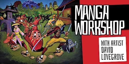 Manga Workshop with Artist David Lovegrove - Maryborough Library - Ages 8-11