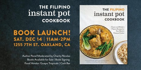 The Filipino Instant Pot Cookbook Launch!  tickets