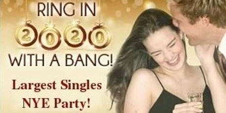 ♥BAY AREA SINGLES GIANT NEW YEAR'S EVE DANCE PARTY 2020♥ tickets