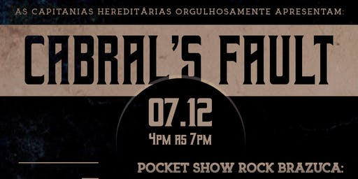 CABRAL'S FAULT - BRAZILIAN ROCK N ROLL - POCKET SHOW