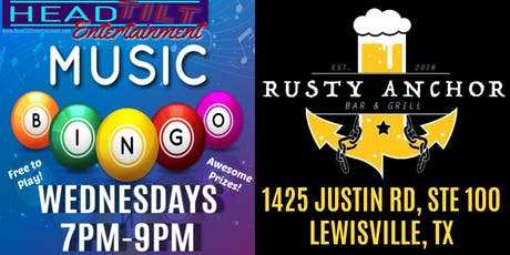 Music Bingo at Rusty Anchor Bar & Grill - Lewisville, TX tickets