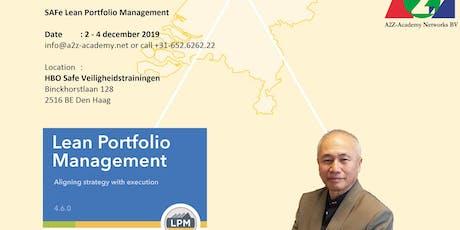 SAFe Lean Portfolio Management (LPM) tickets
