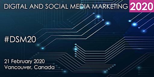 Digital and Social Media Marketing Summit 2020 - Vancouver