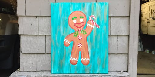 """Sip and Paint - """"Gingerbread Cheer"""" @ Iron Goat Brewing"""