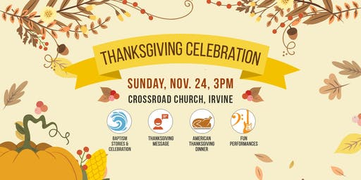 4Corners Thanksgiving Celebration  (UCLA International Students Welcome)