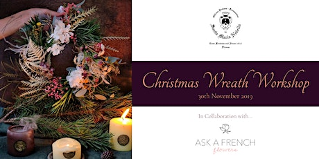 SMN x Ask a French, Christmas Wreath Workshop tickets