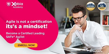 Leading SAFe 5.0 with SAFe Agilist Certification tickets