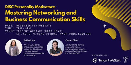 Mastering Networking and Business Communication Skills tickets