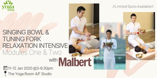 Singing Bowl & Tuning Fork Relaxation Intensive with Malbert