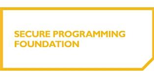 Secure Programming Foundation 2 Days Virtual Live Training in Darwin