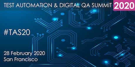 Test Automation and Digital QA Summit 2020 - San Francisco tickets