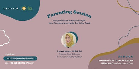 Parenting Session tickets