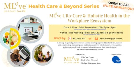 ML've URo-Care & Holistic Health in the Workplace Ecosystem tickets