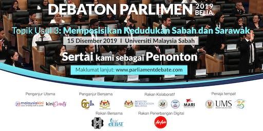 Debaton Parlimen 2019 Belia