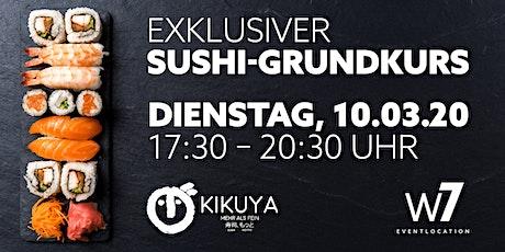 Exklusiver Sushi-Grundkurs by Kikuya Stuttgart Tickets