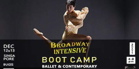 Broadway Intensive BOOT CAMP: Ballet & Contemporary with Broadway artist tickets