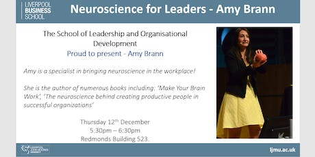 In Focus: Neuroscience for Leaders tickets