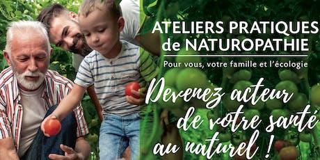 Bases de la naturopathieet sa vision globale de santé! billets