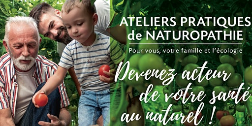 Bases de la naturopathieet sa vision globale de santé!