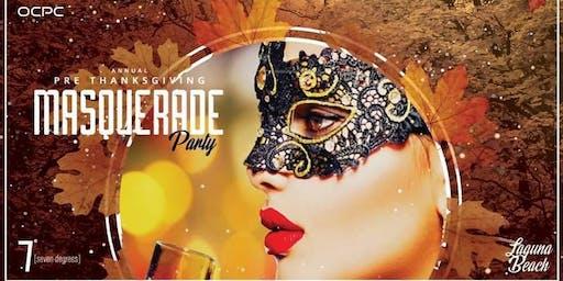 2019 Persian Pre-Thanksgiving Masquerade Party at Laguna Beach
